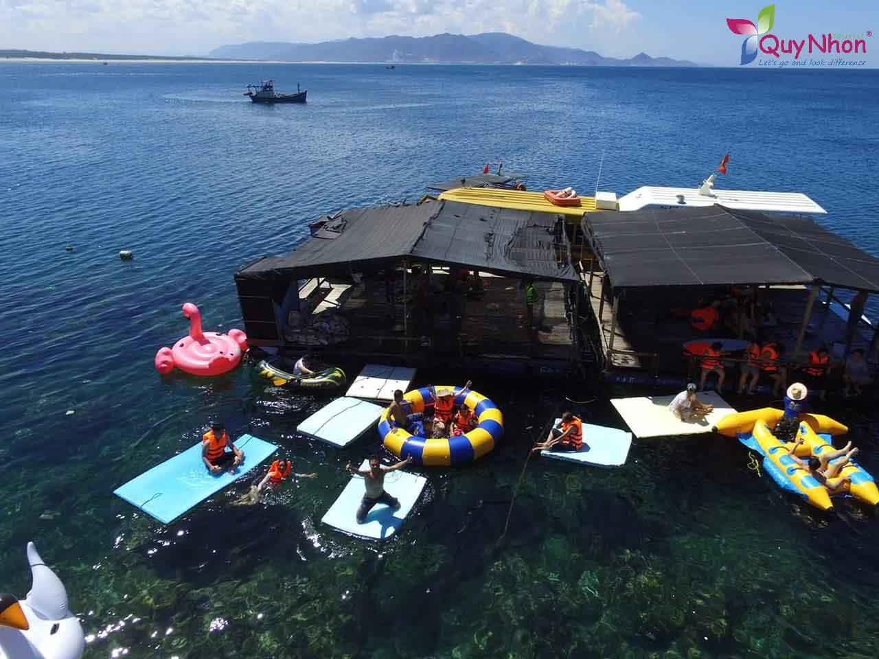Lặn ngắm san hô tại Kỳ Co - Bãi Dứa