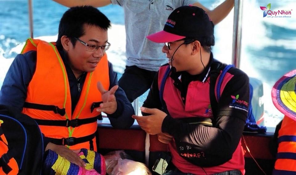 hướng dẫn viên Quy Nhơn Tourist