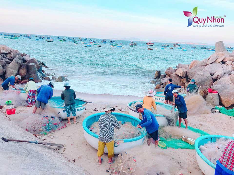 ngư dân Cù Lao Xanh
