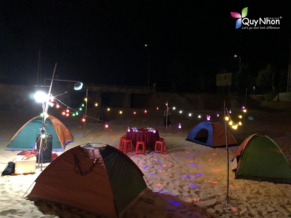Cắm trại đêm tại Kỳ Co