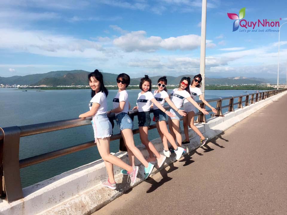 check in Cầu Thị Nại