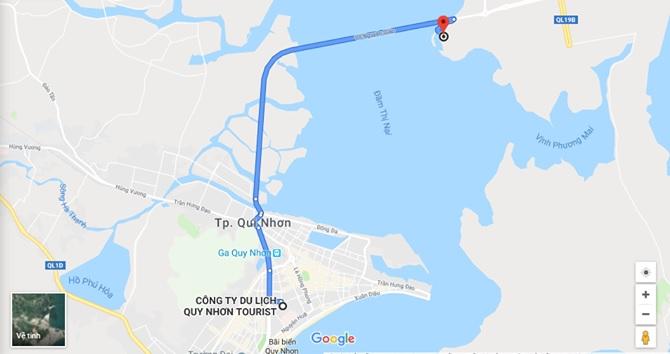 Hướng dẫn đường đi đến Khu du lịch Cửa Biển