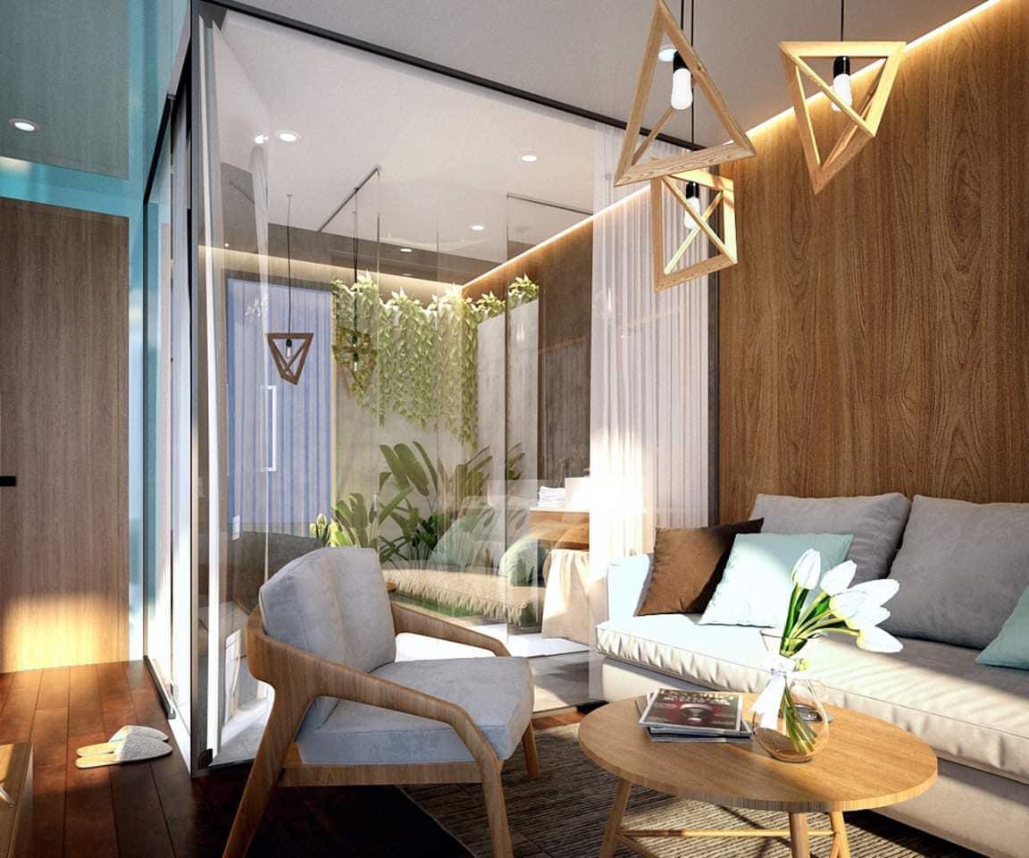 Nội thất bên trong resort - Ảnh: Kỳ Co Resort Quy Nhơn