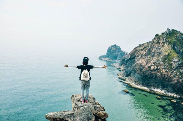 Hòa mình vào không gian bao la của điểm du lịch Bình Định dành cho các phượt thủ.