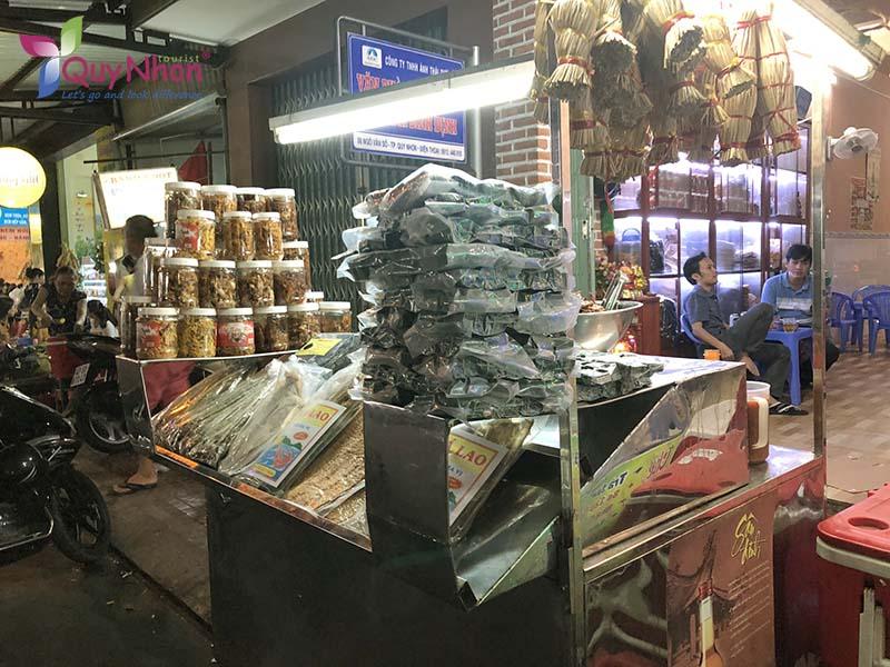 giá cả phố ẩm thực Quy Nhơn