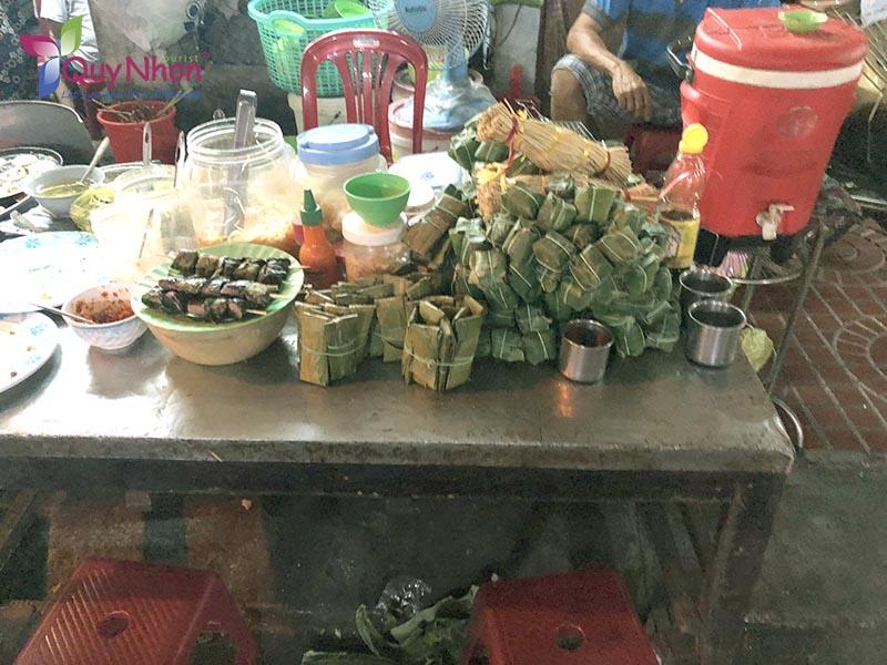 món ăn phố ẩm thực bình định