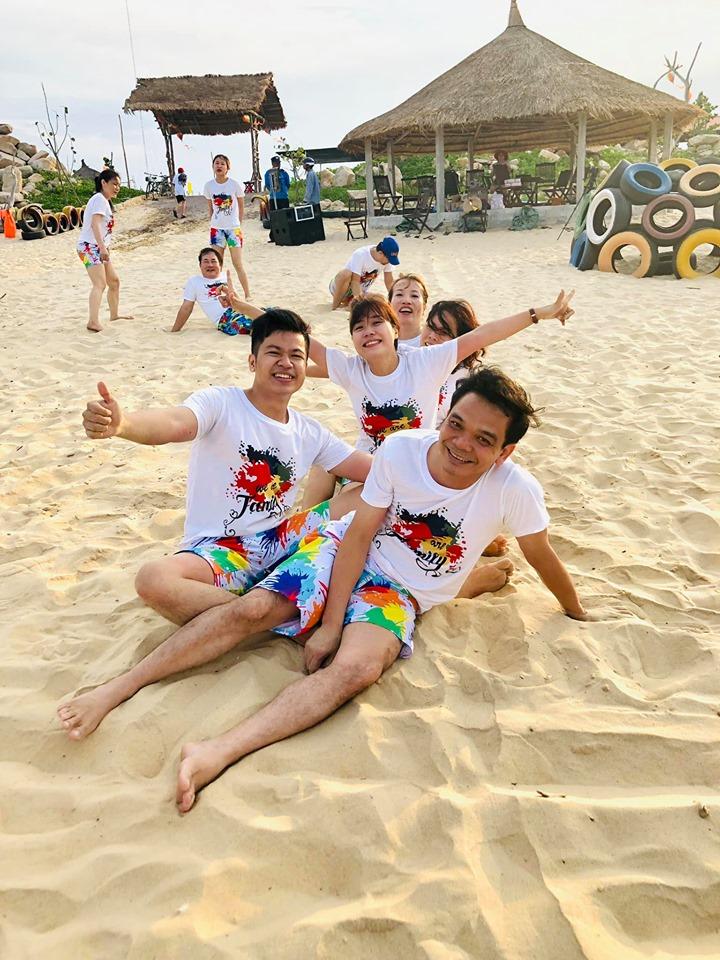 Teambuilding thiệt vui - Ảnh: Lương Định