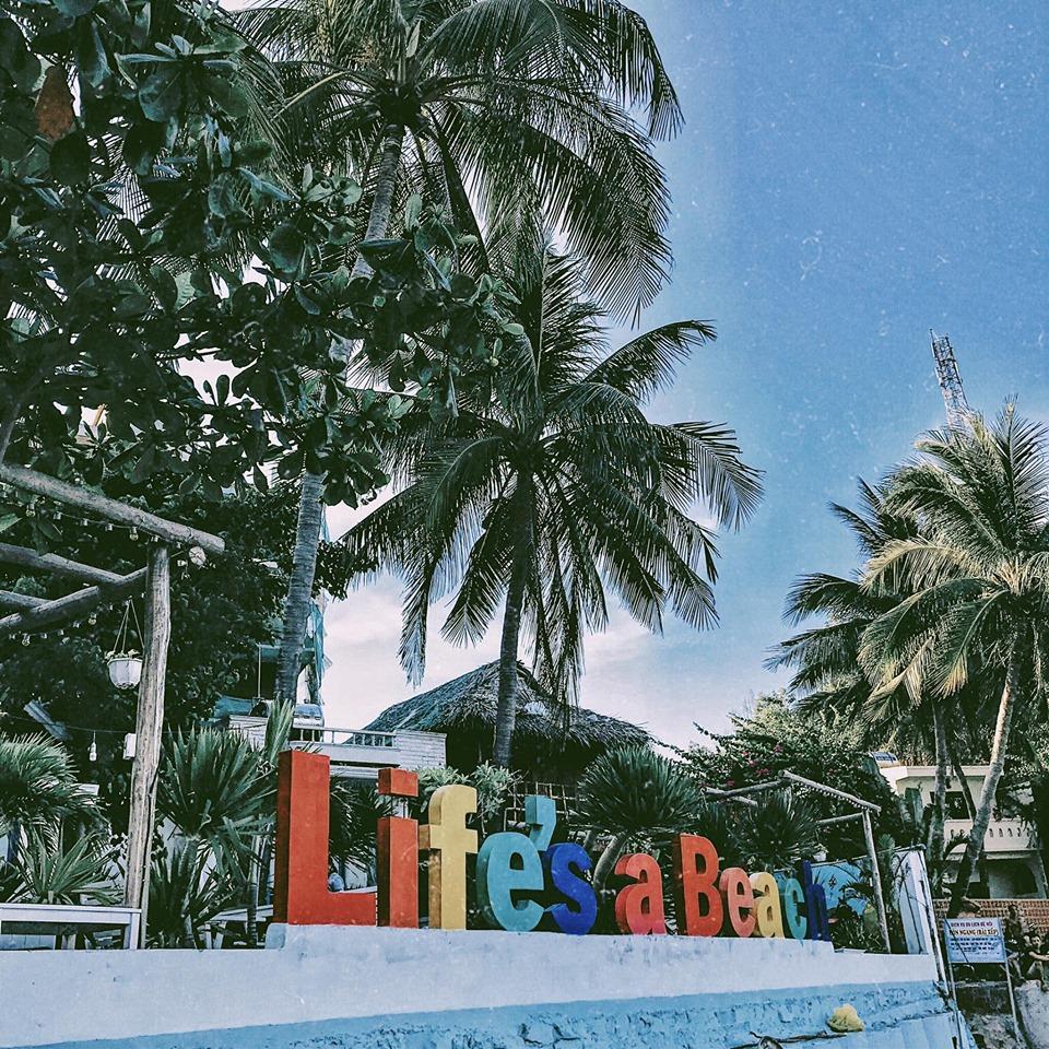 Một góc của Life's a Beach - Ảnh: Lương Thu Trang