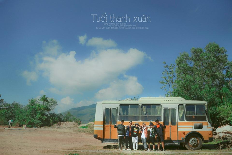 Ai mà ngờ đây là tấm hình được chụp từ núi Bà Hỏa chứ - Ảnh: Quỳnh Nguyễn