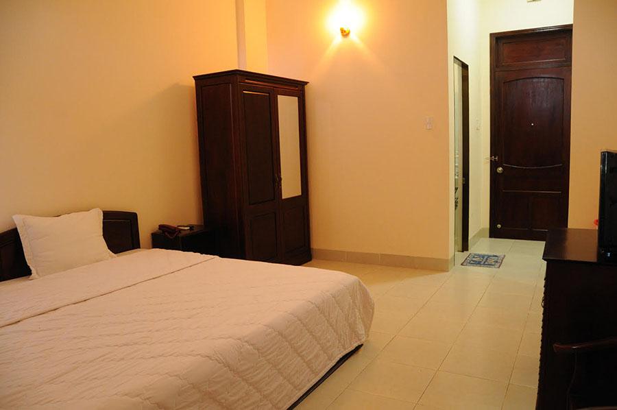 Giá cả phòng hết sức phải chăng, Én Việt chắc chắn là khách sạn mà du khách không thể bỏ qua. Ảnh: Én Việt