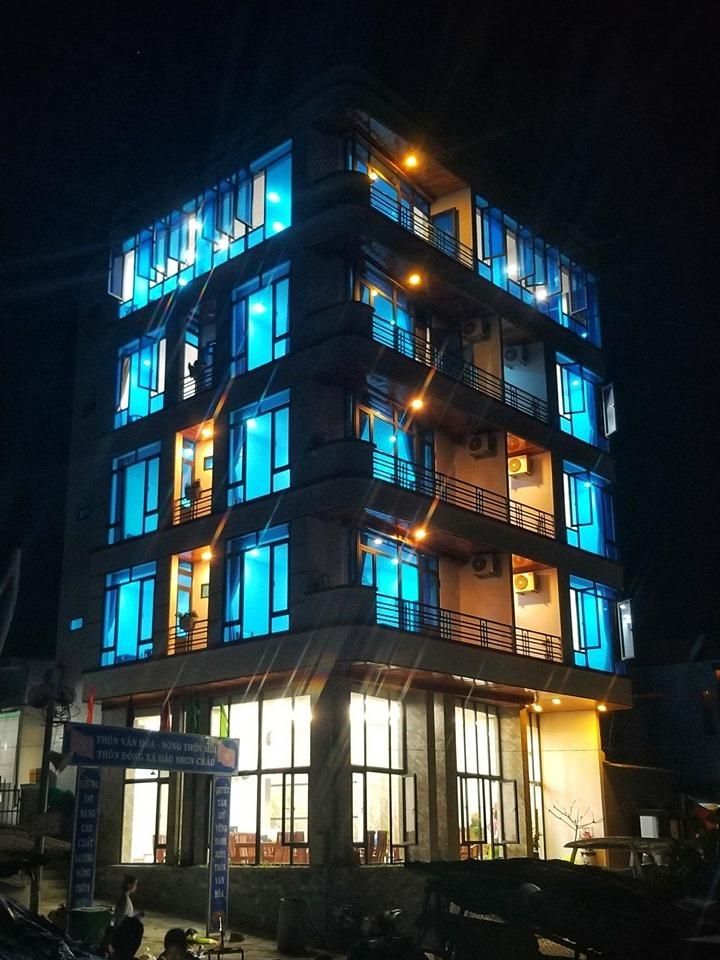 Đây chính là khách sạn, homestay Cù Lao Xanh đầu tiên và duy nhất trên đảo đấy nhé. Ảnh: Bình Minh Cù Lao Xanh