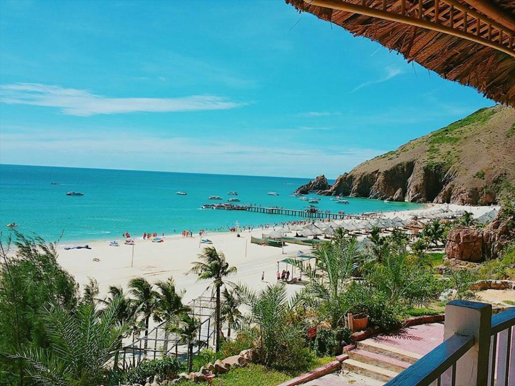 Resort, homestay Nhơn Lý này có làm bạn muốn đến với Kỳ Co ngay? Ảnh: Sưu Tầm