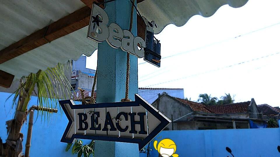 Homestay Nhơn Lý Life's A Beach có vị trí dễ dàng đi đến Kỳ Co, Eo gió. Ảnh: Life's A Beach