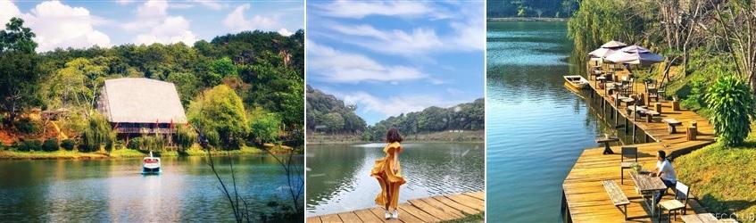 Hồ Đăck ke - măng đen - Kon Tum