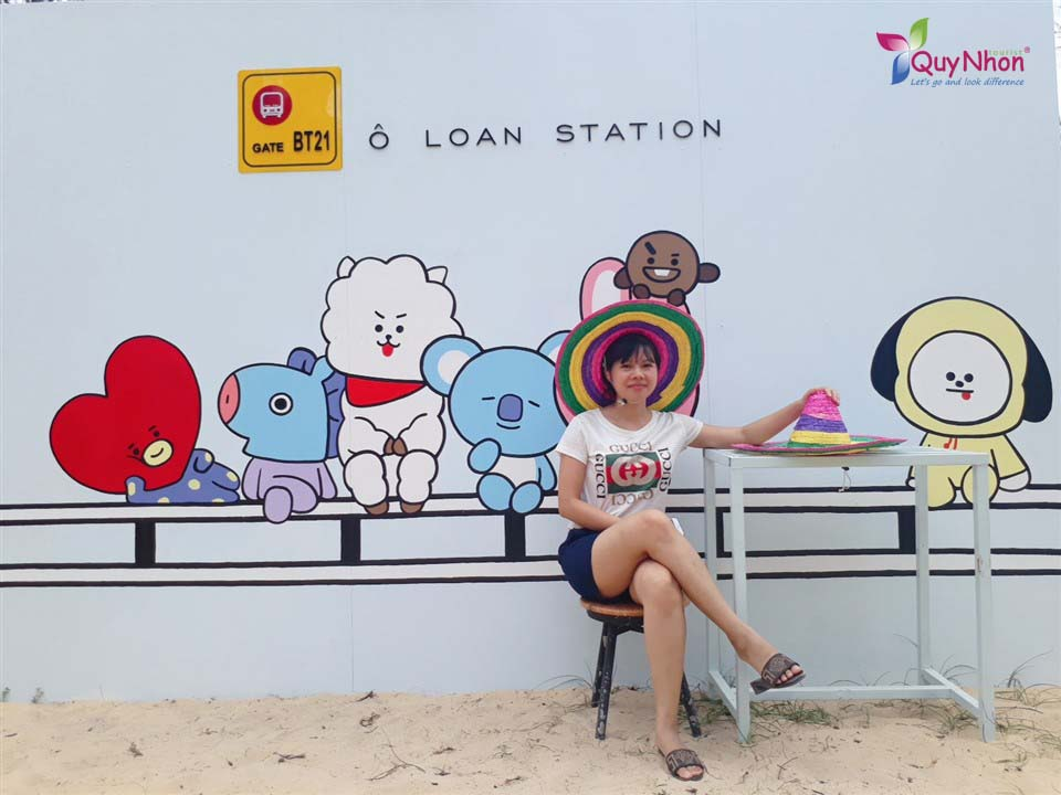 khach hang quy nhon tourist check in o loan chill