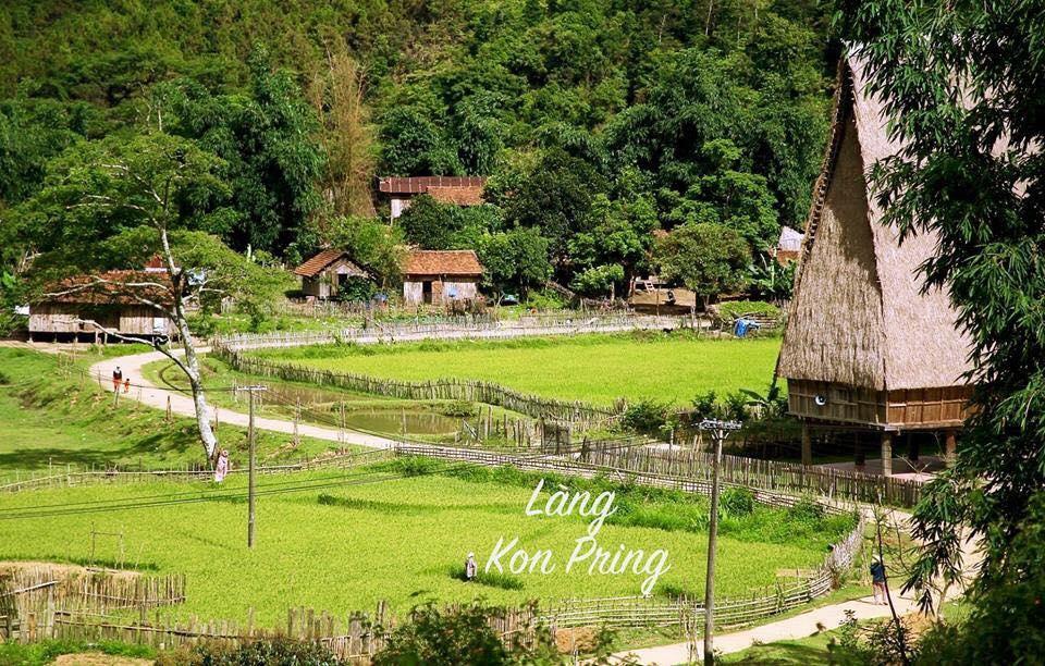 Làng văn hóa du lịch cộng đồng kon pring - măng đen - kon tum