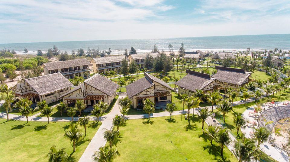 Aurora là resort Quy Nhơn nổi tiếng thu hút du khách bởi vẻ đẹp xanh ngát, hòa hợp với thiên nhiên. Ảnh: Aurora Quy Nhơn