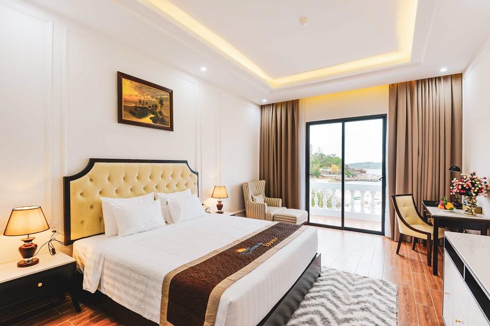 Seaside hiện đang là nơi lưu trú được nhiều du khách yên tâm và tin cậy cho kì nghỉ dưỡng của mình. Ảnh: Seaside Resort Quy Nhơn