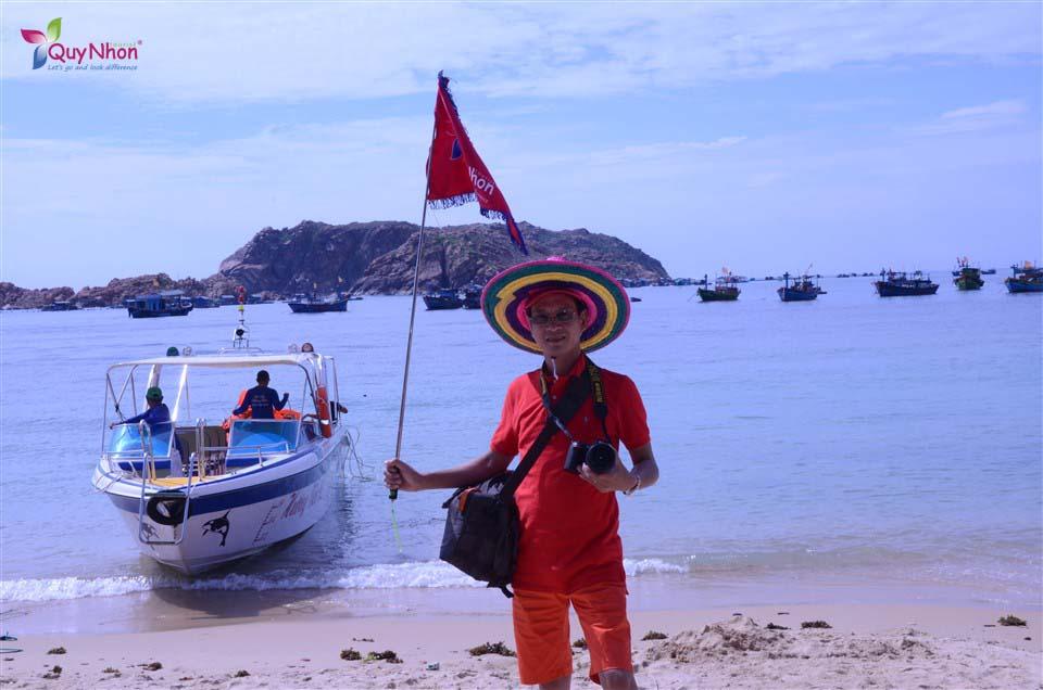 tour 2 đảo quy nhơn hòn khô - kỳ co - vietcombank hà nội