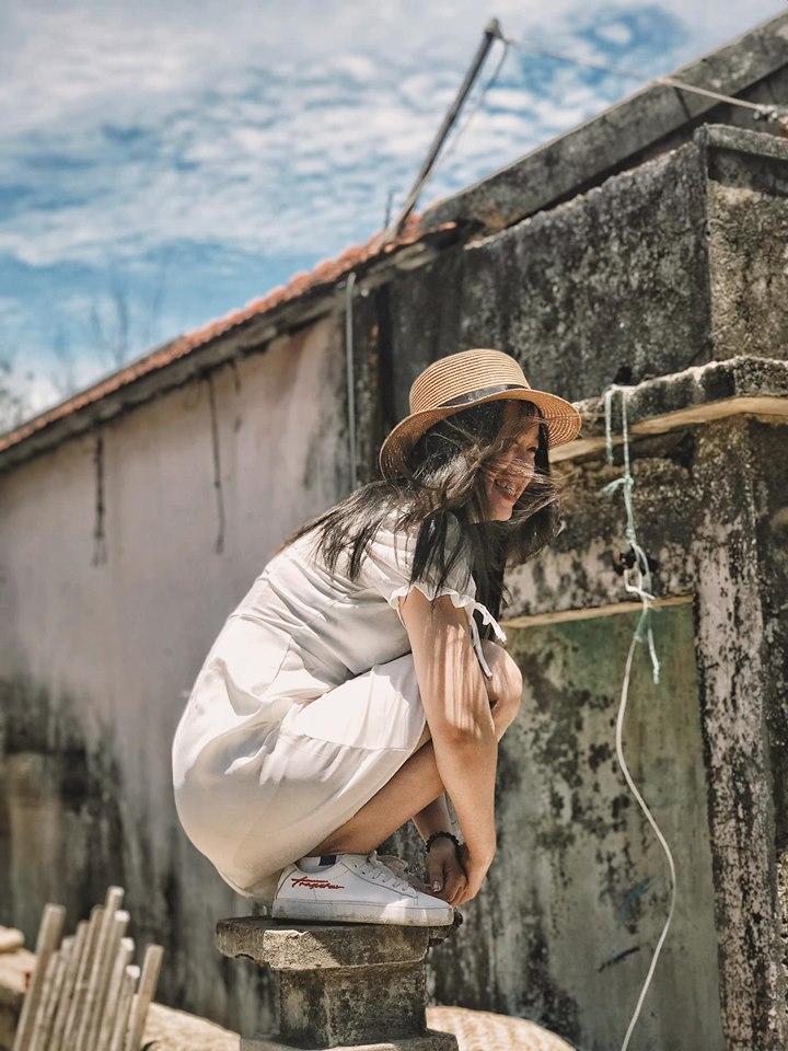 Cuộc sống nhiều lúc chỉ cần cười thật tươi đón nhận như thế. Ảnh: Ngân Tuyết
