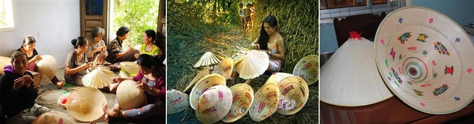 Làng nón ngựa Phú Gia - Bình Định
