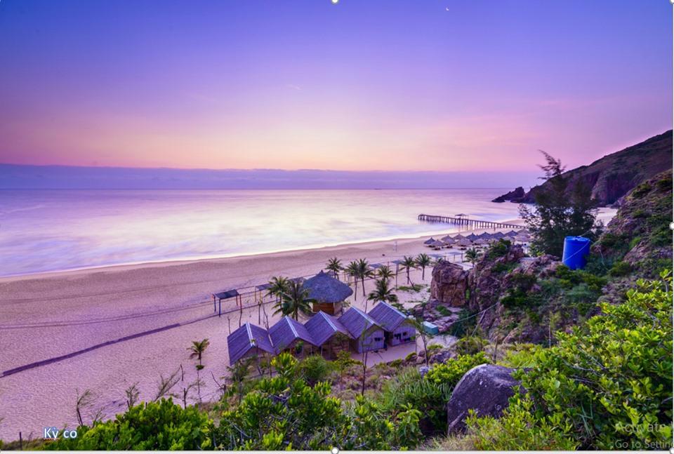 Kỳ Co Resort một chiều hoàng hôn - Ảnh: Sưu Tầm