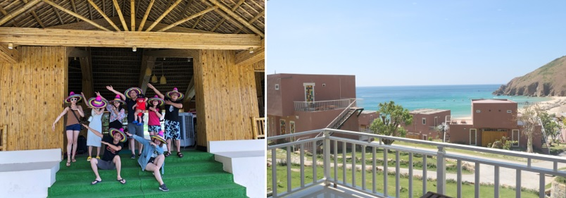 nghỉ dưỡng kỳ co resort - review resort kỳ co