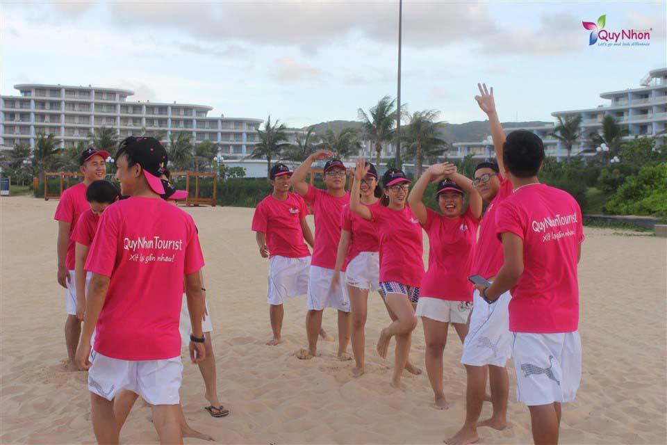 teambuilding kết hợp nghĩ dưỡng flc quy nhơn - tập thể quy nhon tourist