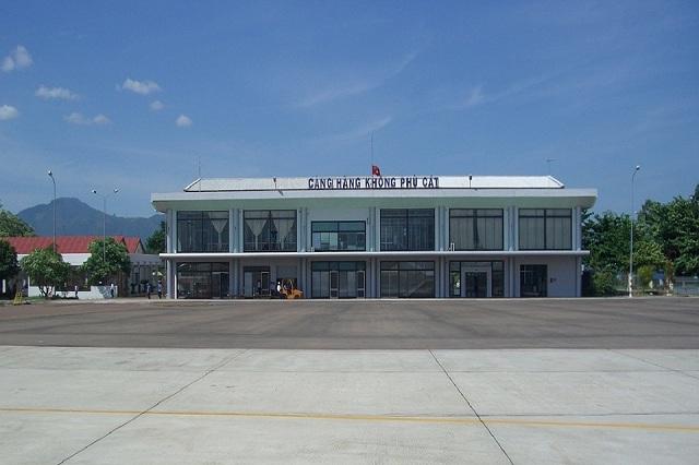 Bamboo Airways Quy Nhơn được đặt ở sân bay Phù Cát - Ảnh: Sưu Tầm