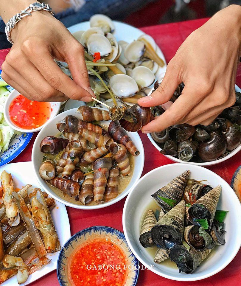 Đây là một quán hải sản Quy Nhơn rất nổi tiếng. Ảnh: Gà Bông Foodie