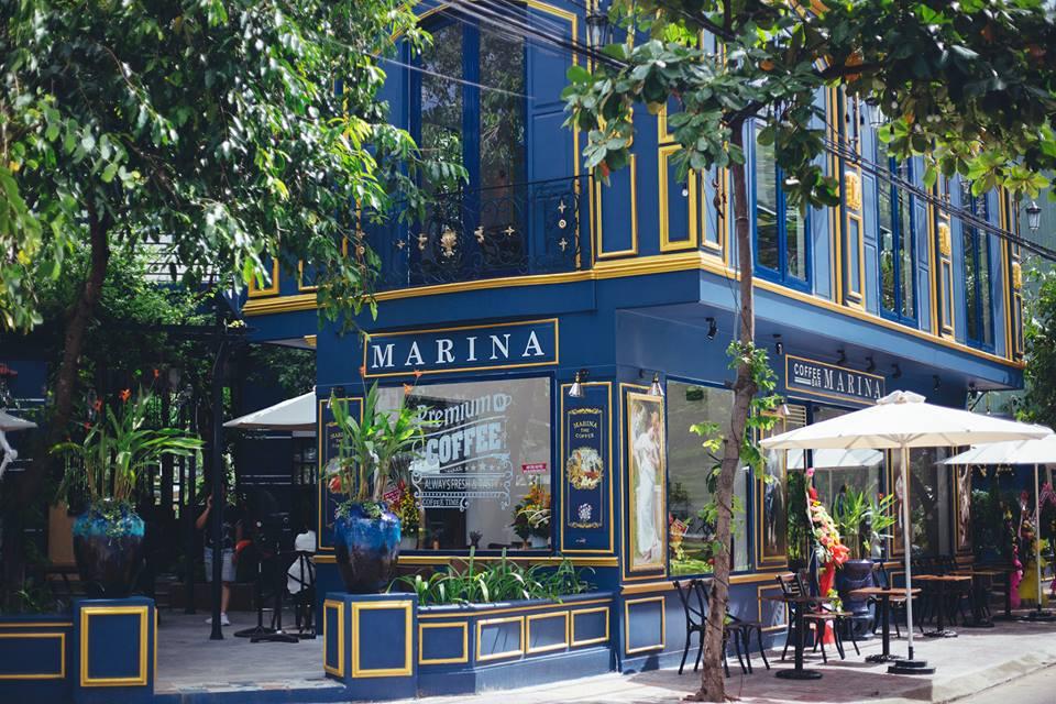 """Đi cà phê mỗi sáng dường như đã là """"nếp"""" của người dân bản xứ nơi đây. Ảnh: Marina Coffee"""