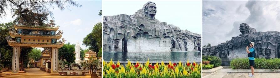 tượng đài mẹ thứ quảng nam - tour quy nhơn đà nẵng 2 ngày 1 đêm