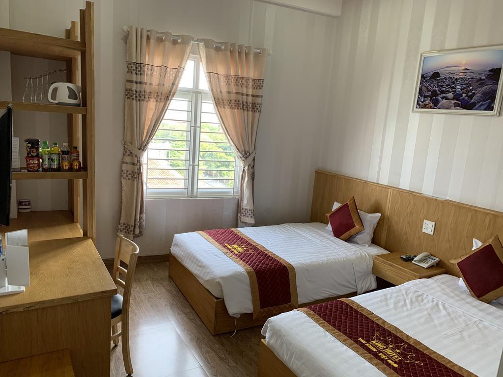 Gía phòng cũng vô cùng hợp lý nên rất đáng để bạn cân nhắc đấy - Ảnh: King Hotel