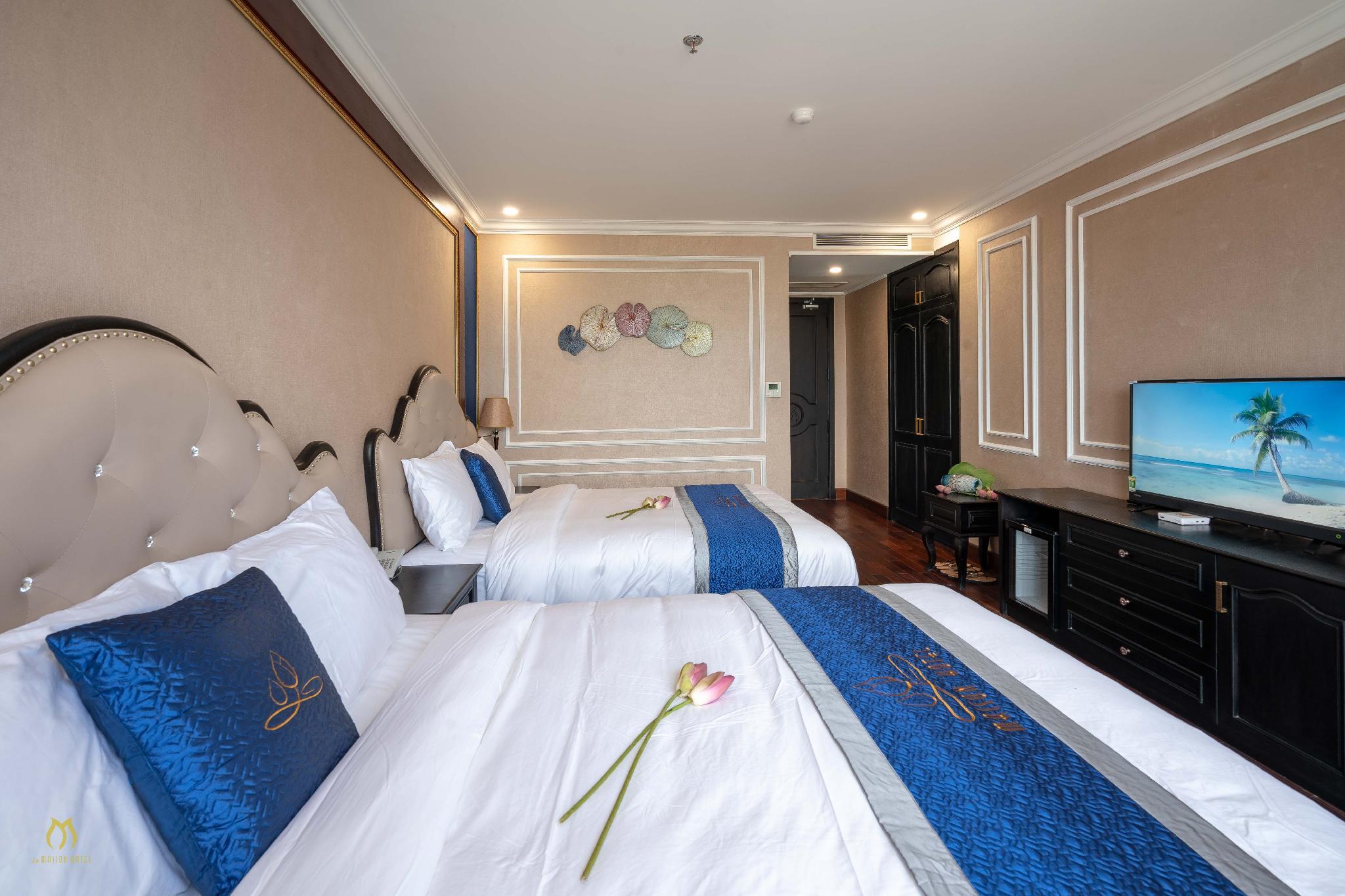 Ngoài có view hướng biển thì nơi đây còn là khách sạn Quy Nhơn 3 sao gần với khu du lịch Ghềnh Ráng - Ảnh: La Maison Hotel