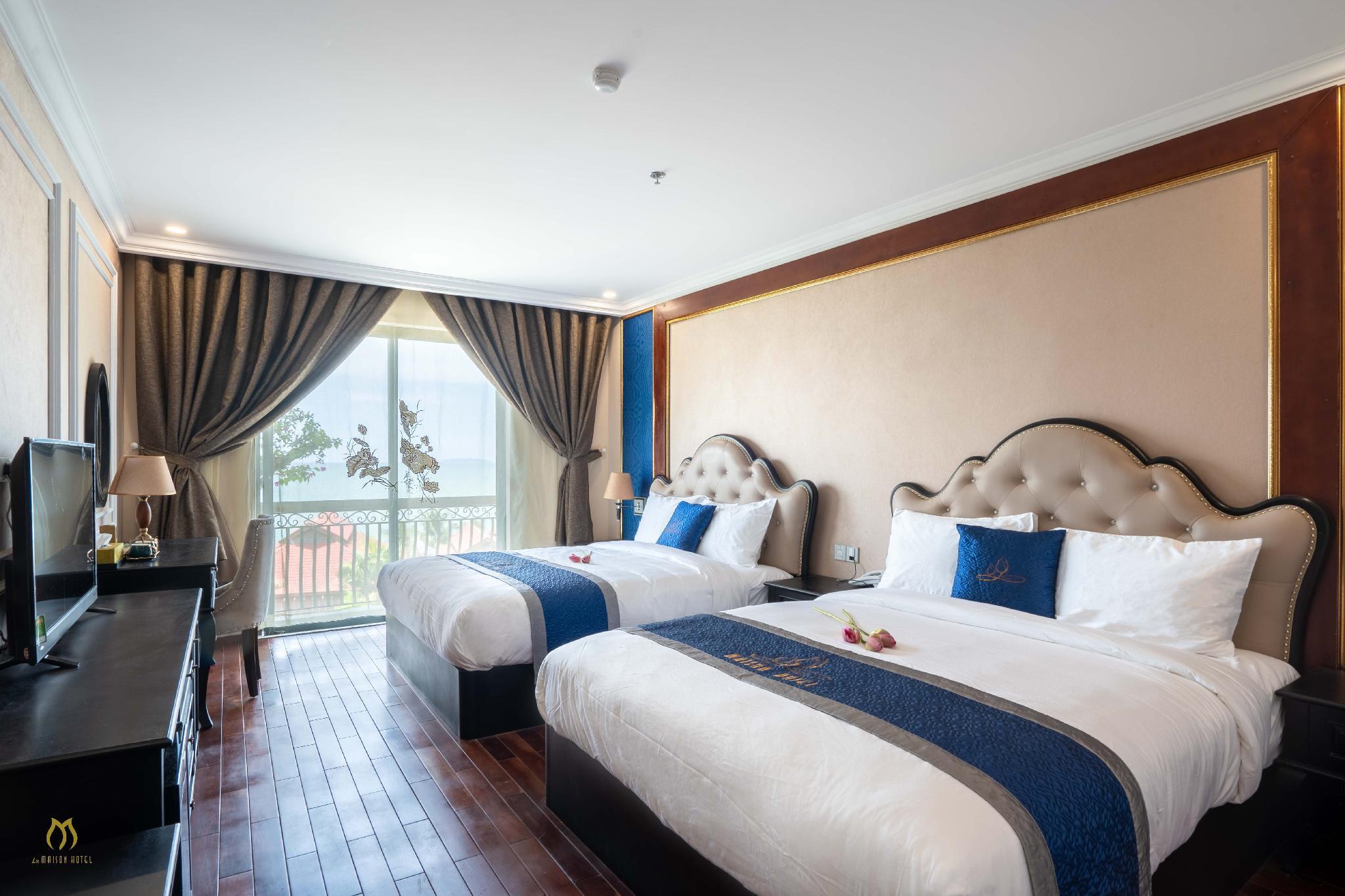 Khách sạn luôn là sự lựa chọn ưu tiên của các du khách - Ảnh: La Maison Hotel