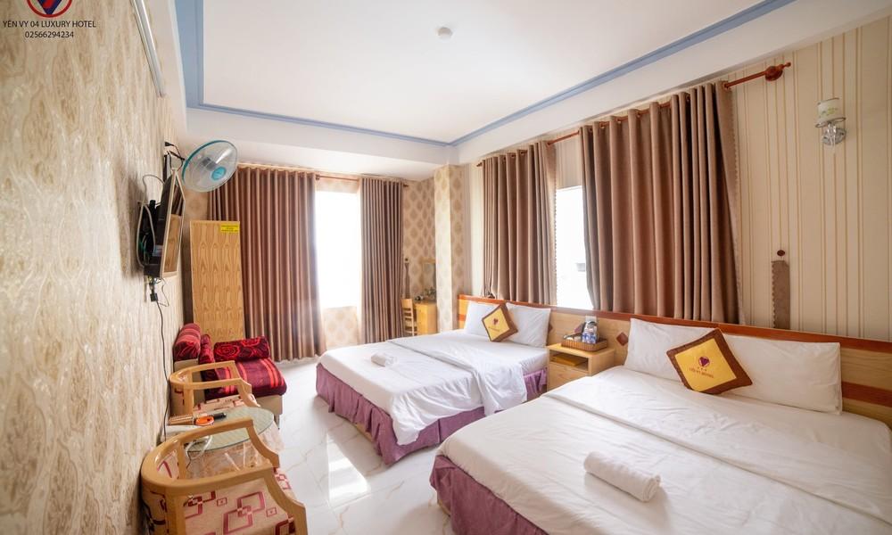 Các phòng đều được trang bị đầy đủ các tiện ích, đem đến sự thoải mái cho khách hàng - Ảnh: Yến Vy Hotel