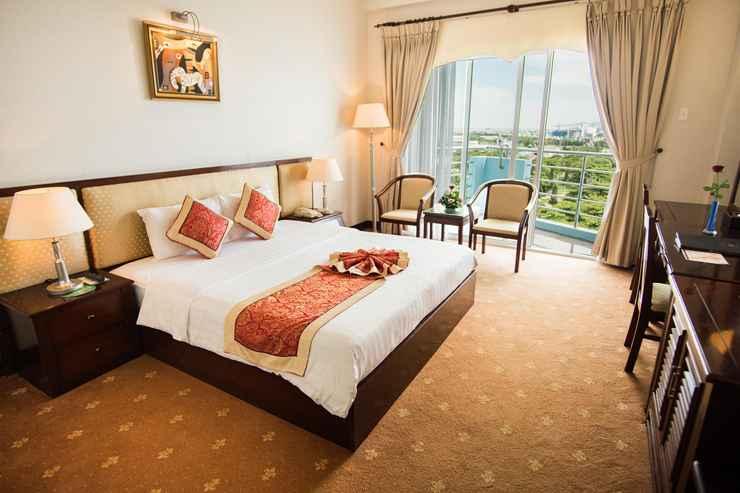 Phòng ốc được thiết kế theo kiến trúc Châu Âu hiện đại, với tiêu chuẩn cao, cung cấp các dịch vụ tiện nghi và thoải mái - Ảnh: Seagull Hotel