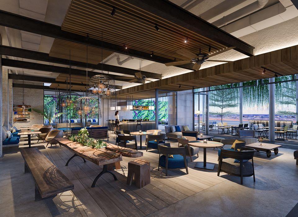 Không gian họp mặt, gặp gỡ tại khách sạn 5 sao Quy Nhơn - Ảnh: ANYA Premier Hotel
