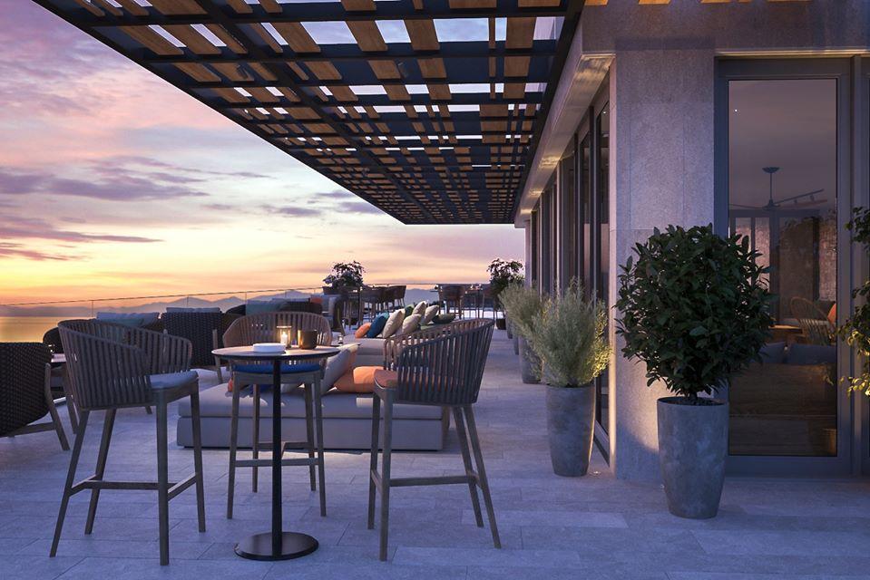 Bạn có thể chill nhẹ tại quầy bar ở ANYA Premier Hotel - Khách sạn 5 sao Quy Nhơn - Ảnh: ANYA Premier Hotel