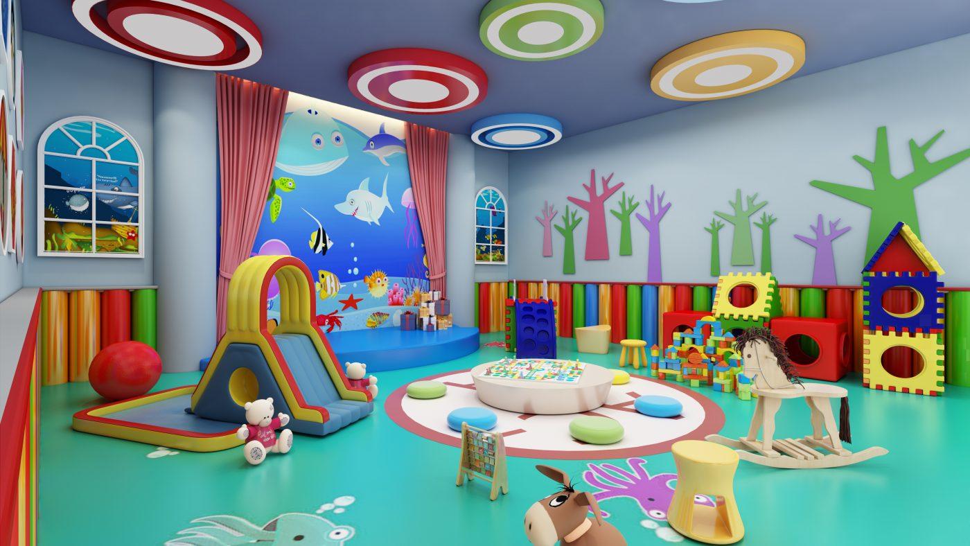 Kid Club là nơi con bạn yêu thích nhất để bạn có thể thoải mái thư giãn - Ảnh: Sưu Tầm