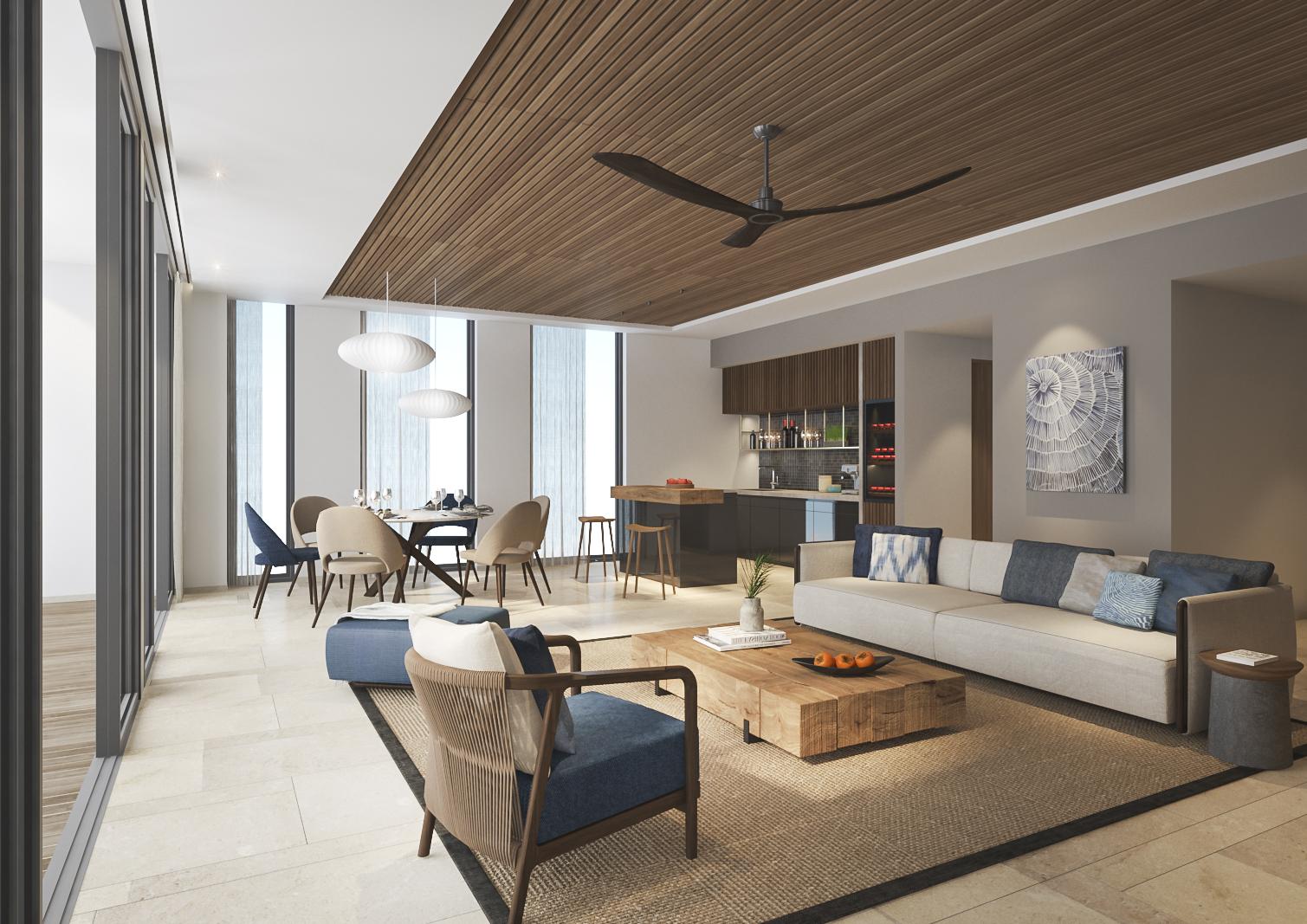 Phòng Signature: với thiết kế hiện đại được đặt tại các tầng cao trước biển, được trang bị cả bồn tắm đứng và nằm tạo sự thoải mái và thuận tiện bậc nhất - Ảnh: ANYA Premier Hotel