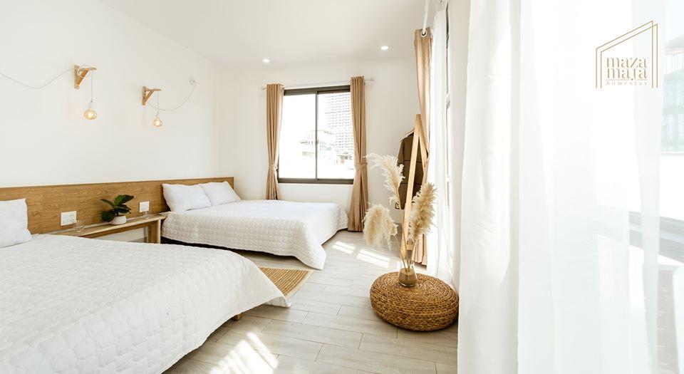 Bạn có thích nghỉ ngơi ở căn phòng xinh xắn như thế này không? - Ảnh: Maza Maja Homestay