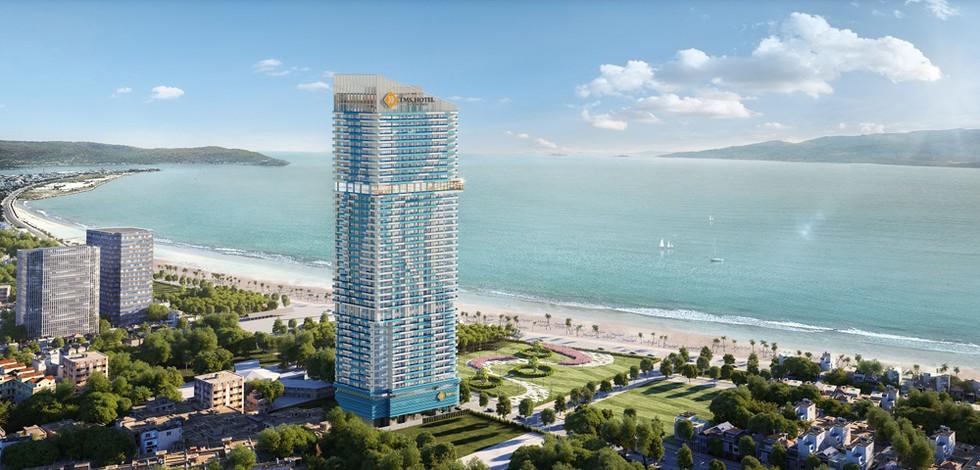 Pullman Quy Nhơn là thương hiệu tổ hợp khách sạn và căn hộ du lịch 5 sao quốc tế đầu tiên và cao nhất thành phố biển - Ảnh: Sưu Tầm