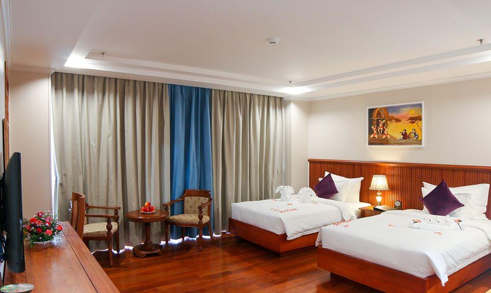 Khách sạn bao gồm 111 phòng từ tiêu chuẩn đến phòng hạng sang trực diện biển - Ảnh: Viet Nam Taste Hotel