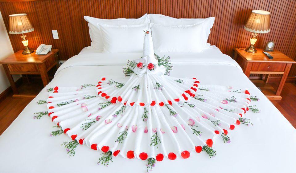 Phòng nghỉ rất đẹp đúng không nào? - Ảnh: Viet Nam Taste Hotel Quy Nhon