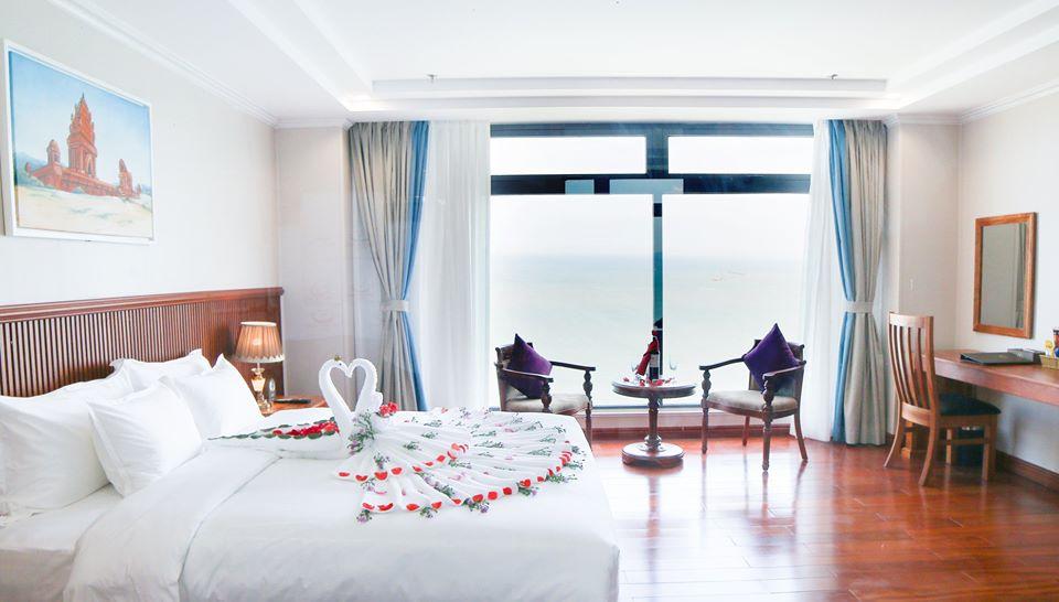 View hướng biển trực diện - Ảnh: Viet Nam Taste Hotel