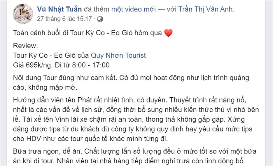 review tour ky co eo gio 1 ngay - vu nhat tuan