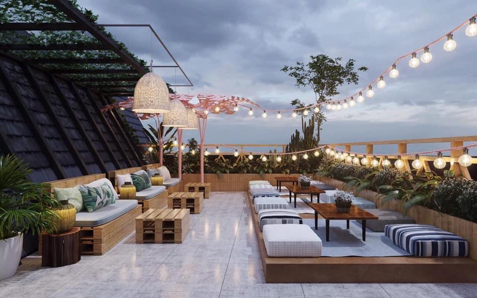 Không gian thiết kế của homestay Nhơn Lý này quá đỗi xinh xắn - Ảnh: La Beach House