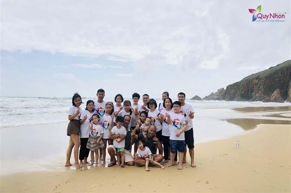 chị Cát Phượng - Tour Kỳ Co - Tour Phú Yên - Quynhontourist