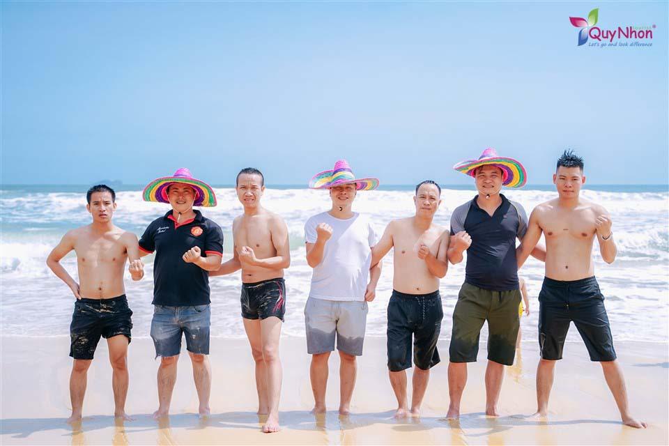 công ty dược minh quân - tour kỳ co teambuilding 1 ngày - quy nhon tourist